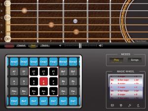 iGtar. Gitarren-App fürs Apple iPad im Play Mode