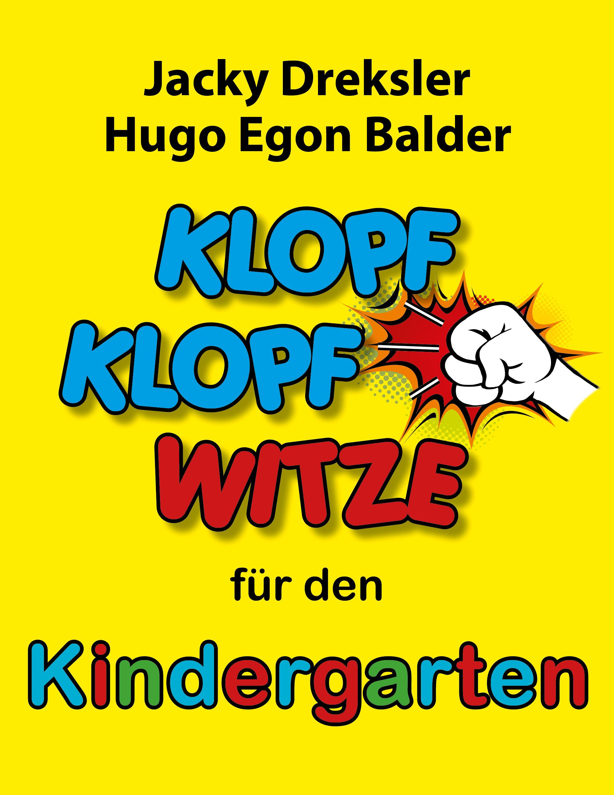 Cover: Klopf-Klopf-Witze für den Kindergarten