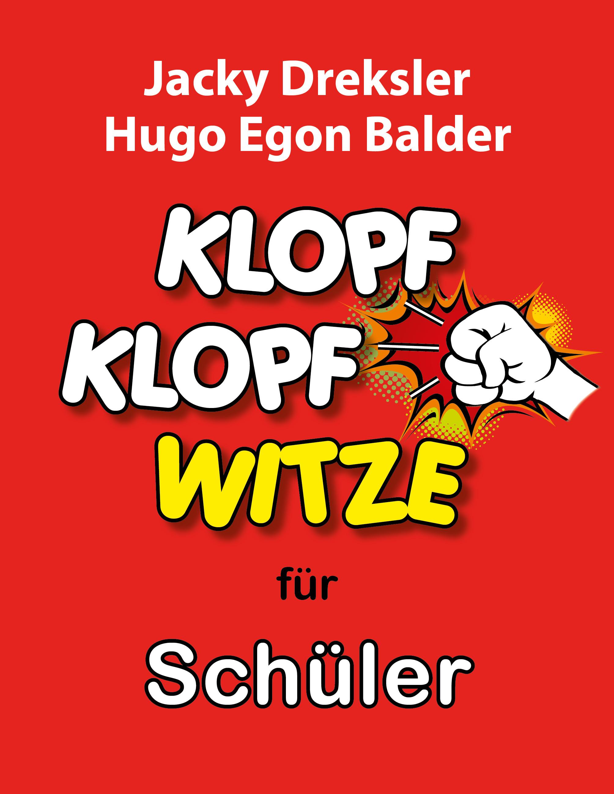 Cover: Klopf-Klopf-Witze für Schüler