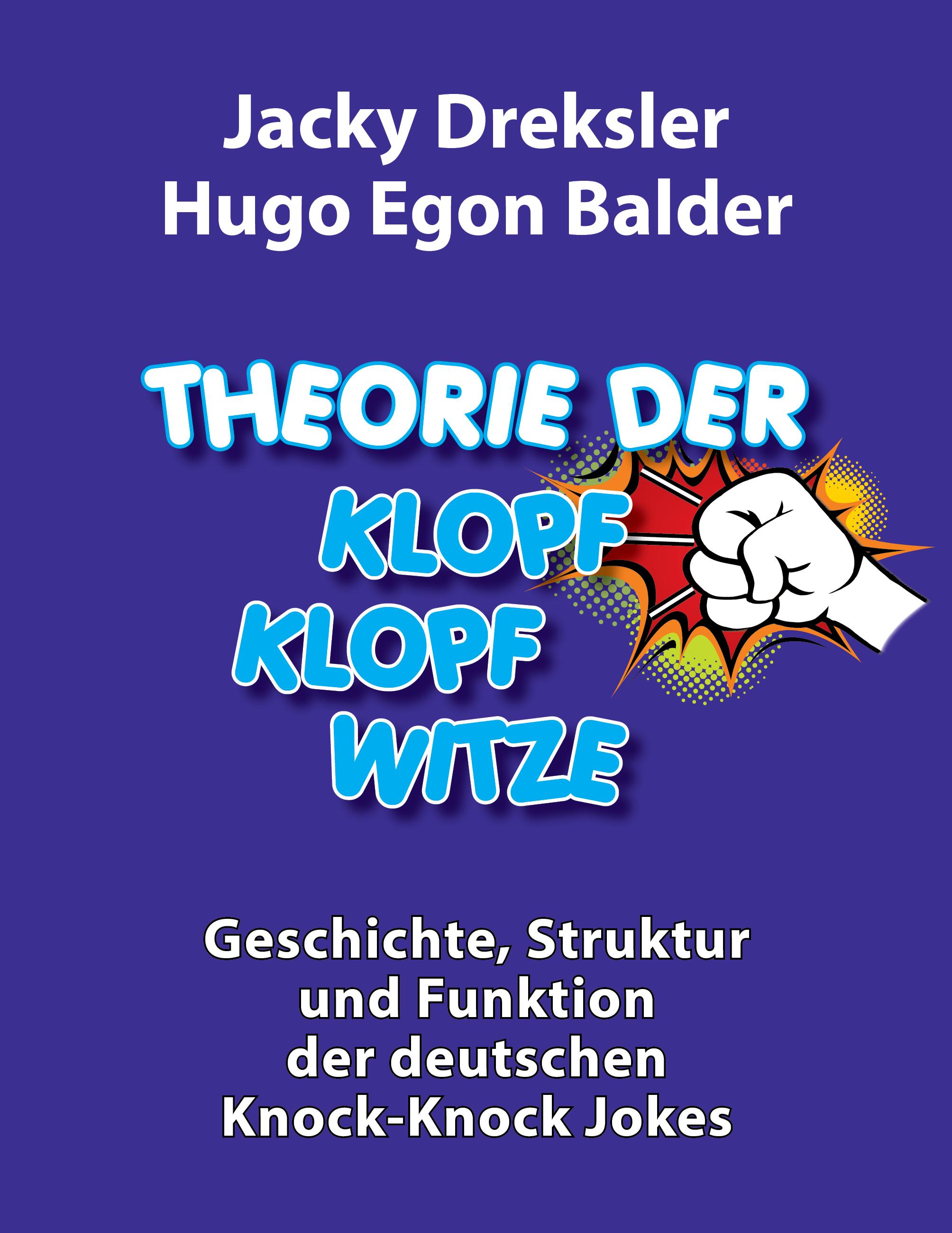 Cover: Theorie der Klopf-Klopf-Witze